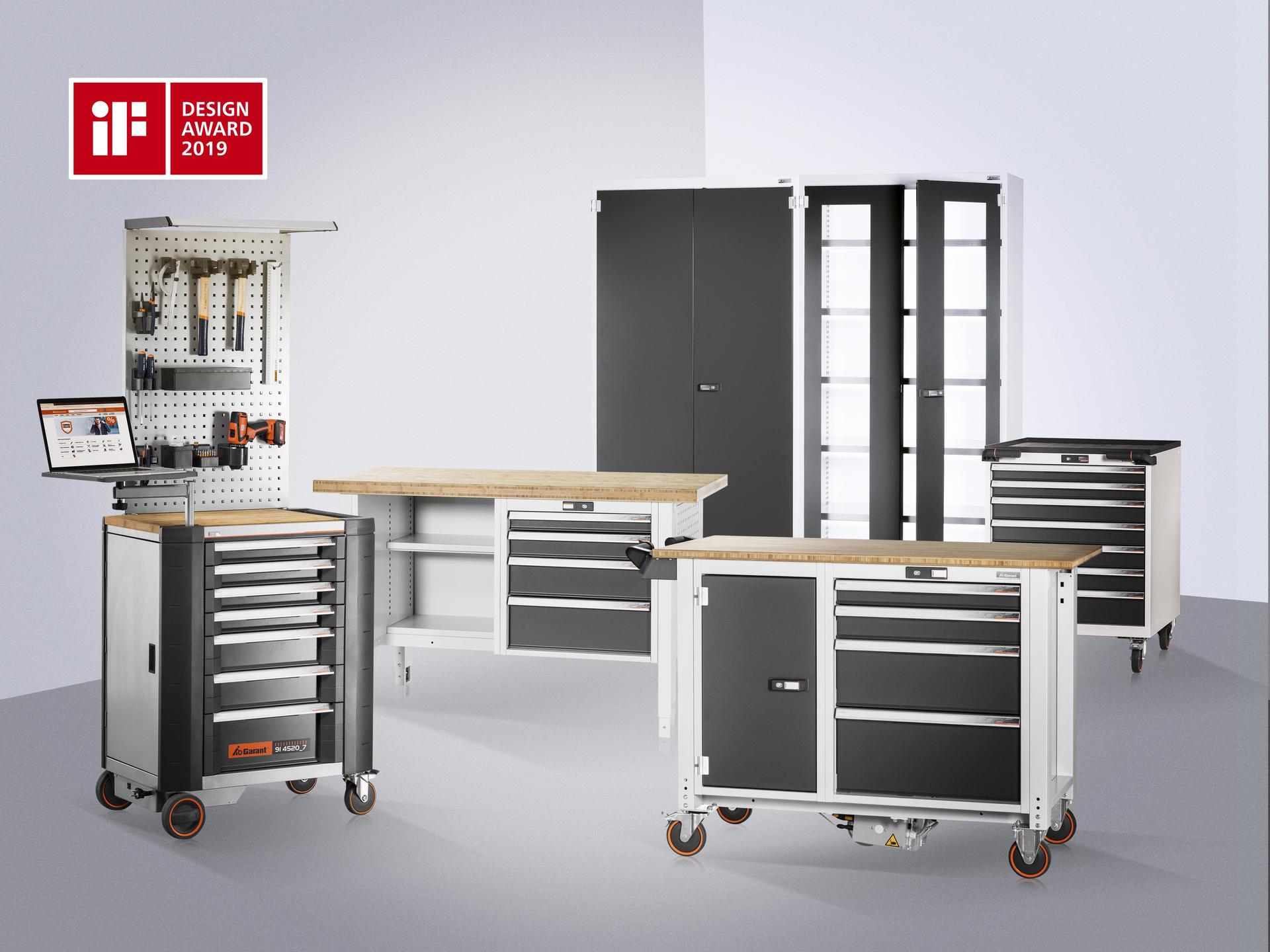 Garant Gridline Workshop Cabinets Receive If Design Award